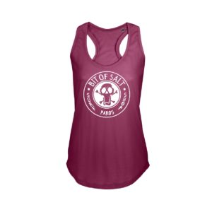 BIT OF SALT MOKA TANK TOP  RASPBERRY
