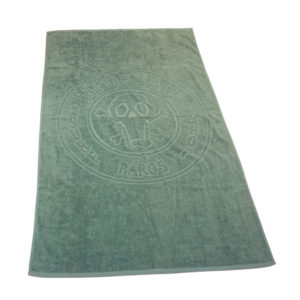 BIT OF SALT BEACH TOWEL mint green