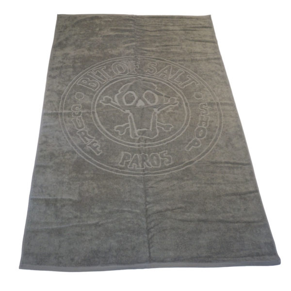 BIT OF SALT BEACH TOWEL grey