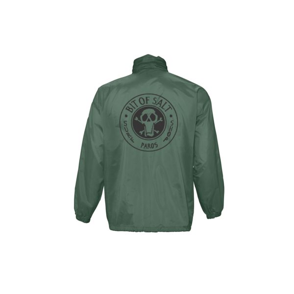 BIT OF SALT WINDBREAKER SURF FOREST GREEN