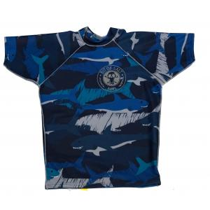 BIT OF SALT LYCRA sharks S/S