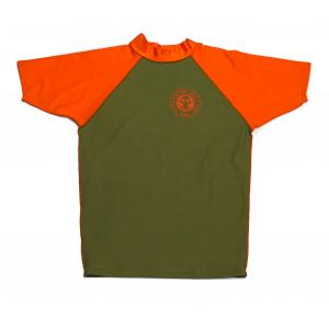 BIT OF SALT LYCRA KHAKI/ORANGE S/S