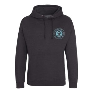 BIT OF SALT AWD HOODY JH001 black smoke