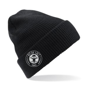 BIT OF SALT BEANIE BLACK