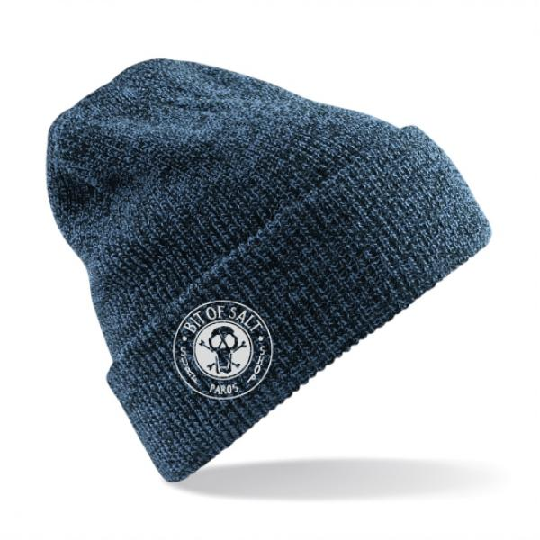 BIT OF SALT BEANIE MEDIUM BLUE