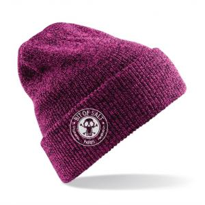 BIT OF SALT BEANIE MEDIUM RASBERRY