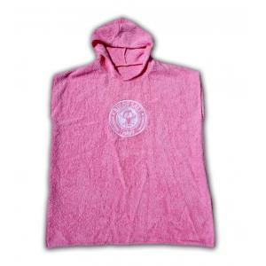 BIT OF SALT KIDS PONCHO pink