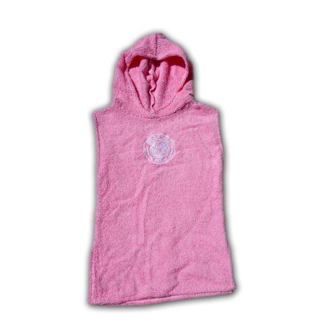 BIT OF SALT BABY PONCHO pink