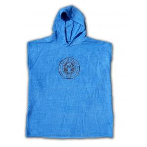 BIT OF SALT KIDS PONCHO blue