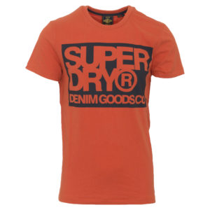 SUPERDRY DEMIN GOODS GO PRINT TEE