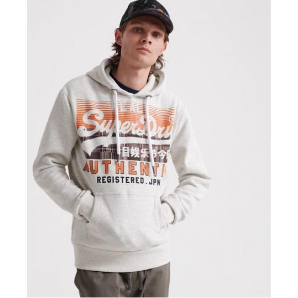 SUPERDRY Vintage Authentic Check Hoodie