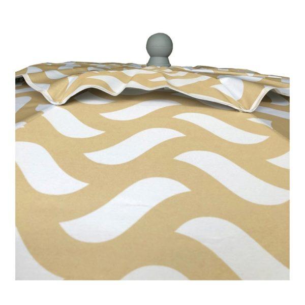 BEACH UMBRELLA HUPA MISTRAL (Beige Shapes)