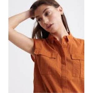 Superdry Sleeveless Military Shirt