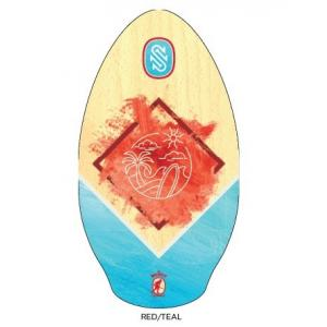 "SKIM-ONE WOOD 37"" Wailuku Red/Teal"