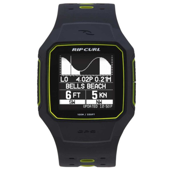 Rip Curl Search GPS 2 Watch - YELLOW
