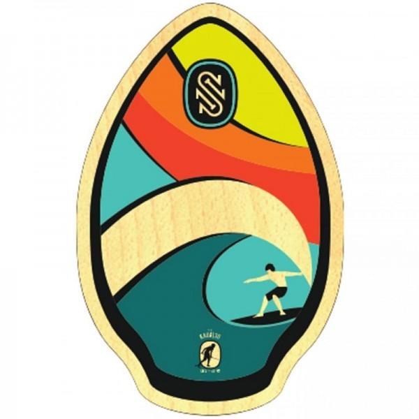 "Skimboard Skim One Kauai Rainbow 30"""