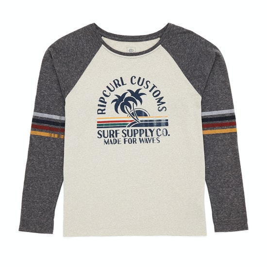 Rip Curl Customs Long Sleeve T-Shirt