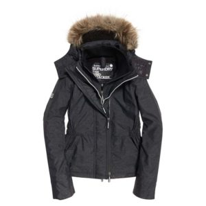 Superdry Hooded Fur Winter Windattacker
