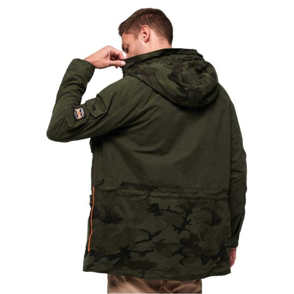 Superdry Mixed Rookie Parka