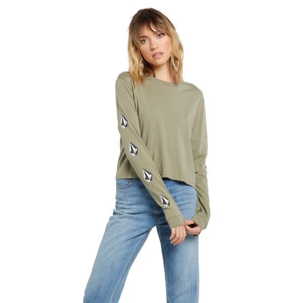 The Volcom Stones T-shirt - GREEN TEA