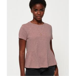 SUPERDRY  PEPLUM RODEO TEE