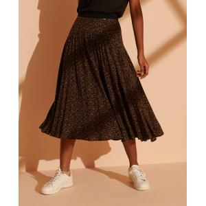 SUPERDRY Ronda Midi Skirt