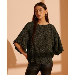 SUPERDRY Lola Wide Sleeve Top