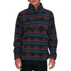 BILLABONG BOUNDARY MOCK NECK FLEECE MALIBU