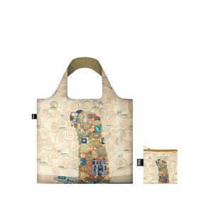 LOQI GUSTAV KLIMT BEIGE THE FULFILMENT BAG