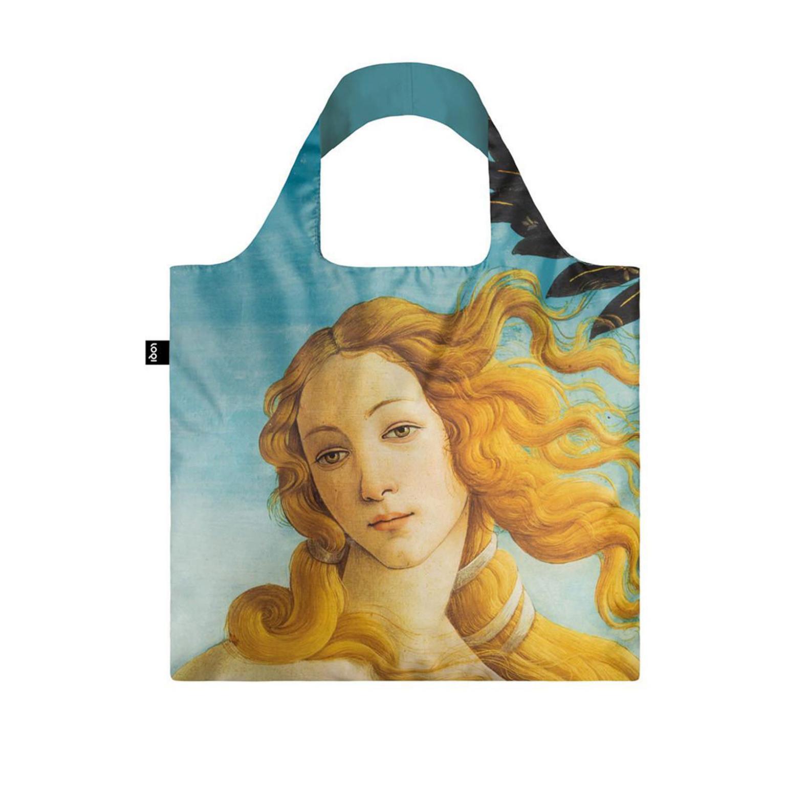 LOQI BOTTICELLI LIGHT BLUE THE BIRTH OF VENUS BAG