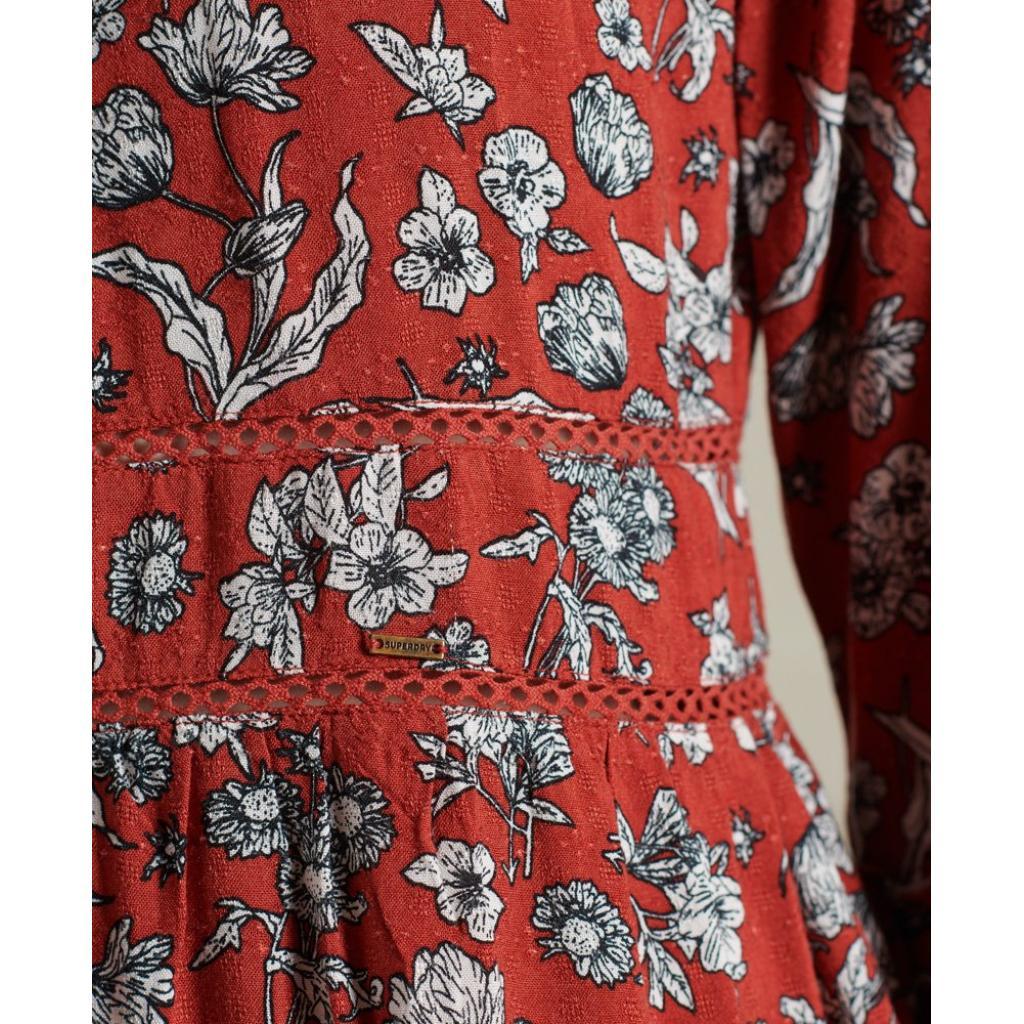 SUPERDRY RICHELLE LS DRESS