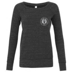 BIT OF SALT BELLA CANVAS FLEECE SWEATSHIRT CHARCOAL