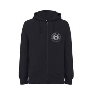 BIT OF SALT EP 61Z UNISEX ZIP HOODY BLACK