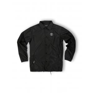 WE RIDE LOCAL (EMBLEM BLACK COACH JACKET)