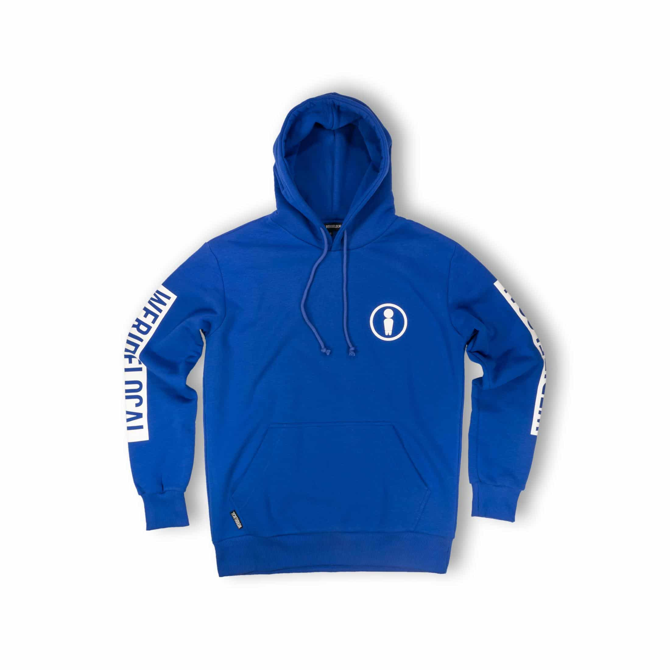 WE RIDE LOCAL (UNION BLUE ELECTRIC HOODIE)