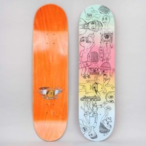 TOY MACHINE 8.25 CHARACTERS SKATEBOARD DECK