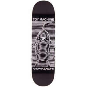 TOY MACHINE TOY DIVISION SKATEBOARD COMPLETE 8.0