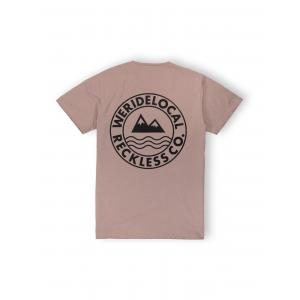 WE RIDE LOCAL ERA BEIGE TEE