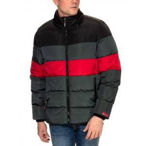 SUPERDRY  STRIPE SPORTS SPORTS PUFFER