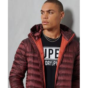 SUPERDRY CORE DOWN JACKET CABERNET