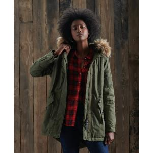 SUPERDRY ROOKIE PARKA DARK KHAKI